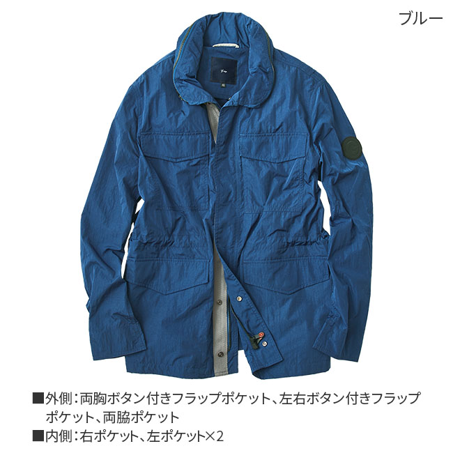 ワッシャー加工M65ジャケット