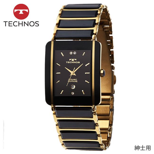 テクノス セラミックベルト腕時計