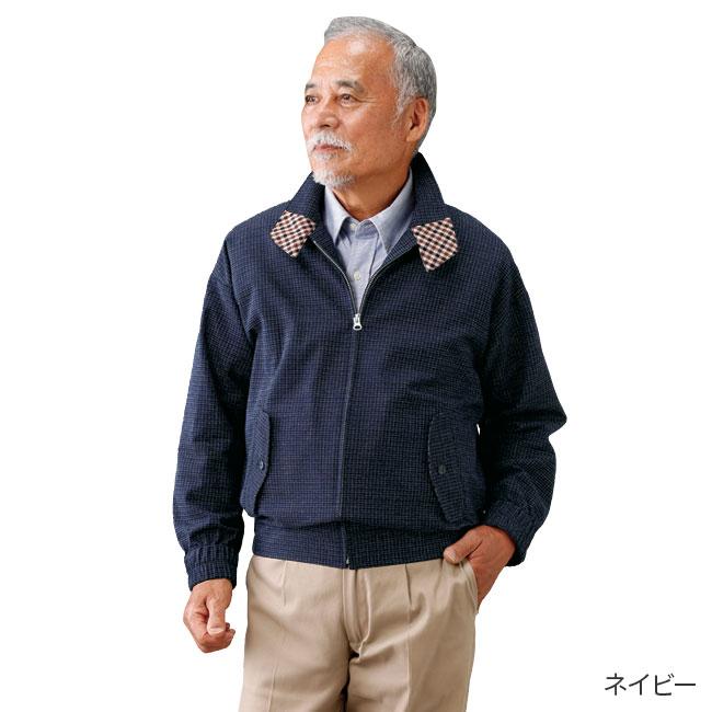 日本製久留米織ブルゾン