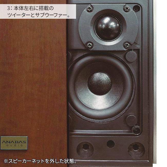 ANABAS audio CDクロックラジオシステム
