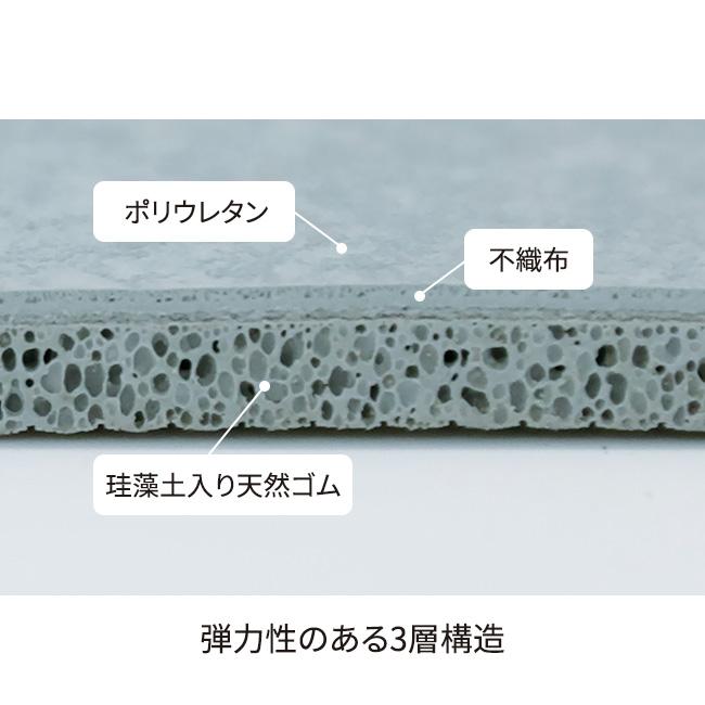 珪藻土配合柔らかバスマット2枚組