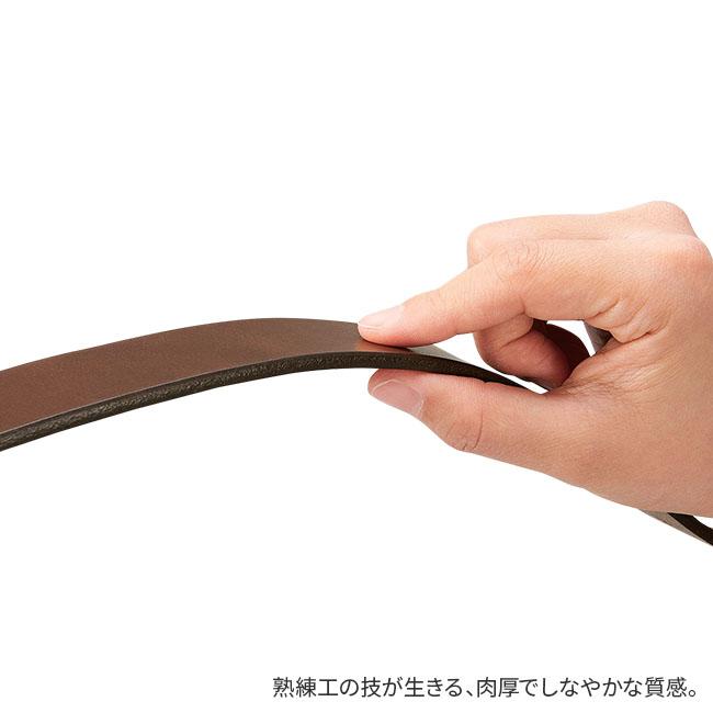 栃木レザー 極厚牛革ベルト