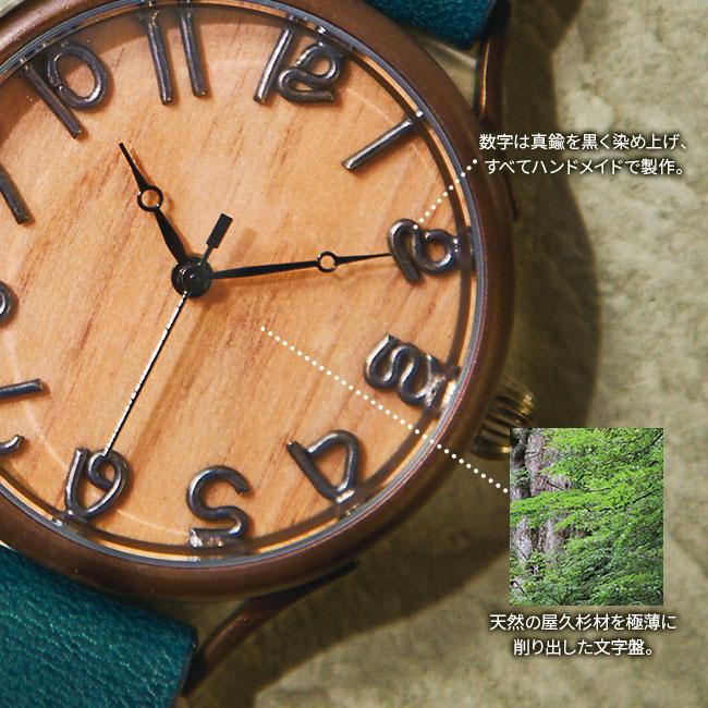 ハンドメイドアンティーク腕時計