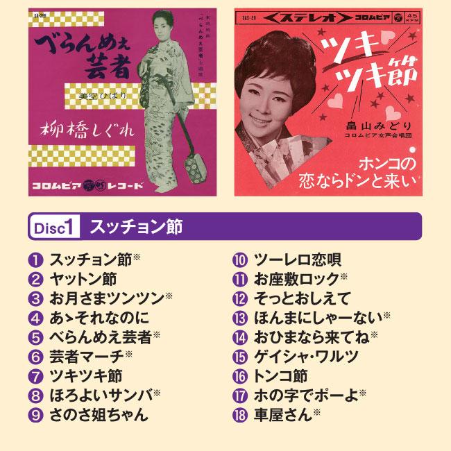 昭和遊酔伝 お気楽ソング集 CD5枚組
