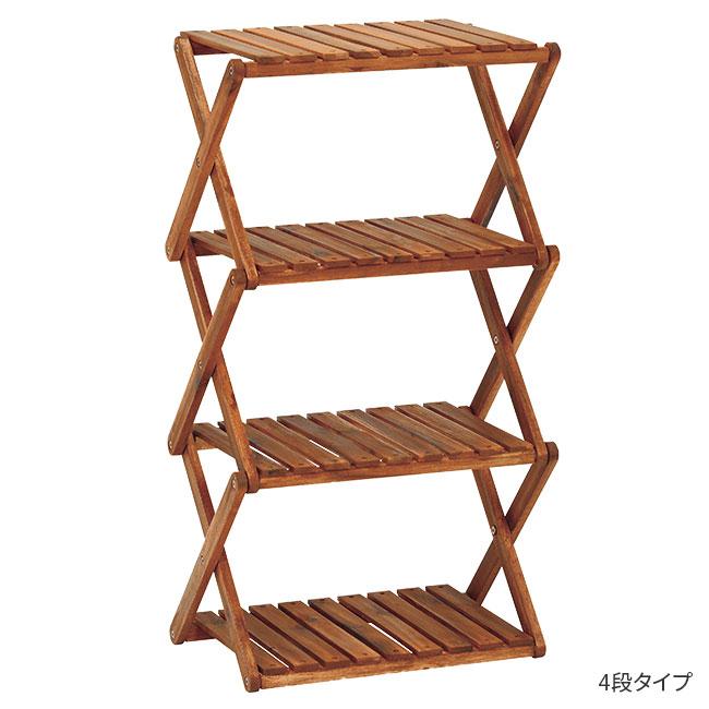 木製オープンラック