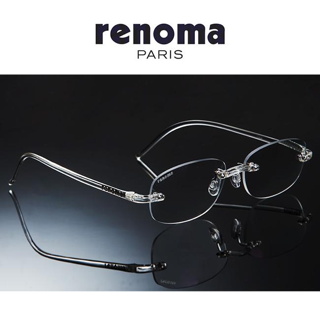 <renoma>レノマ 超軽量クリア老眼鏡