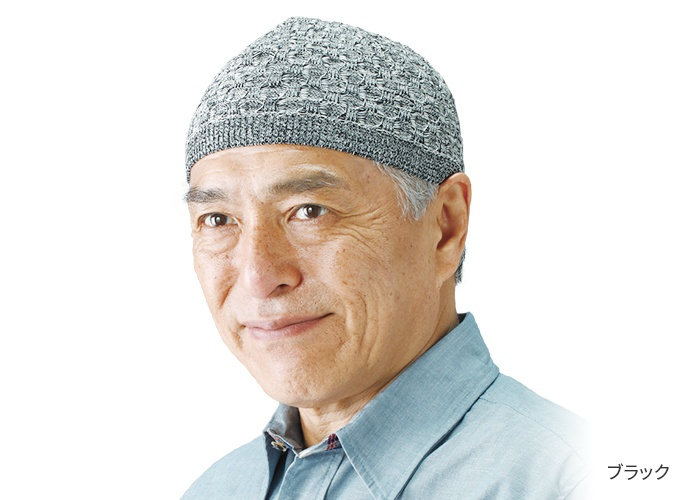 日本製美濃和紙ニット帽子3色組