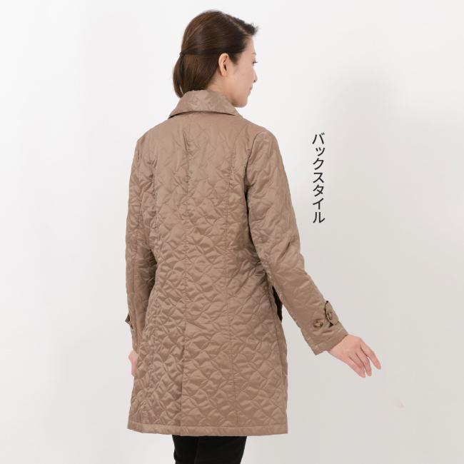 日本製アウトラストキルティングコート