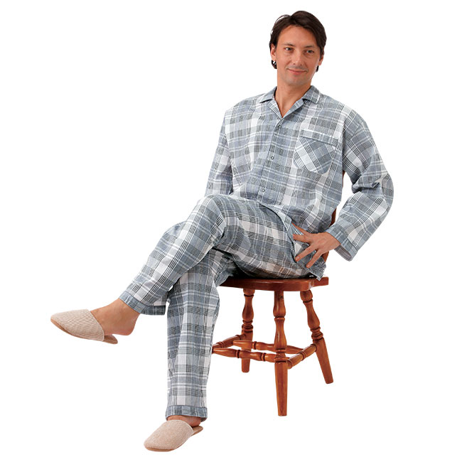 日本製紳士近江パジャマ
