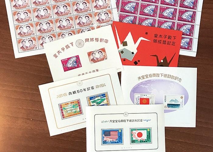 皇族・記念切手シートコレクション(ファイル付)