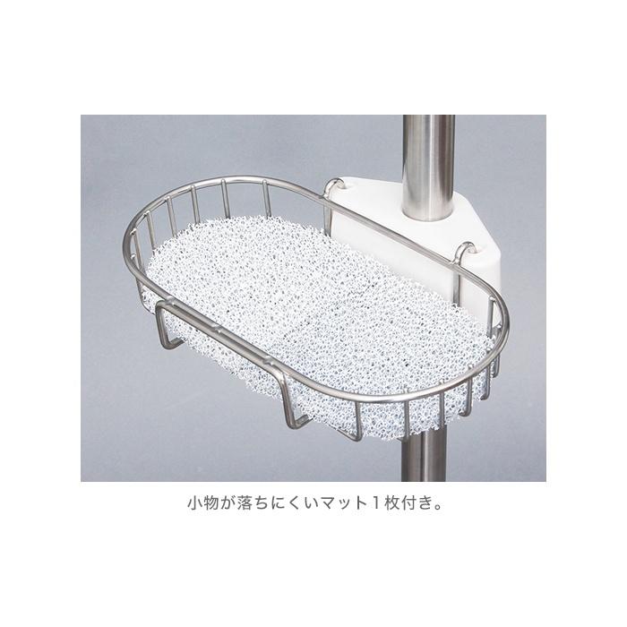 浴室つっぱりラック