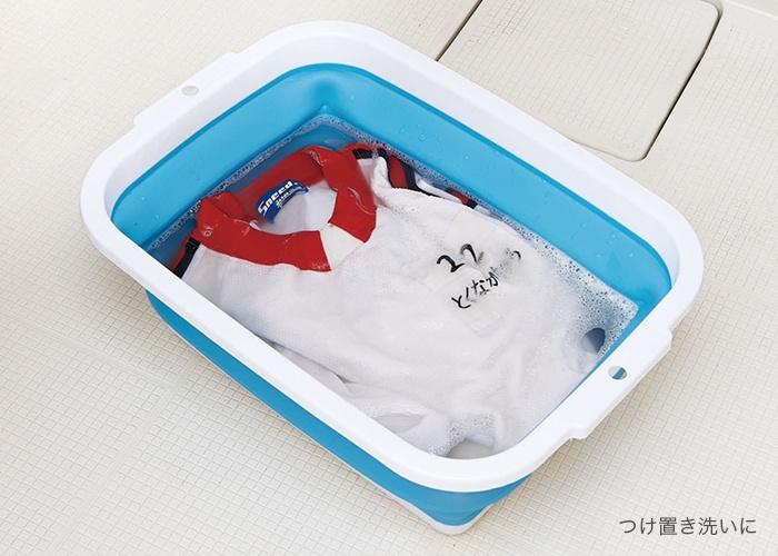 薄くたためる洗い桶