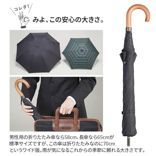 晴雨兼用BIG折りたたみ傘