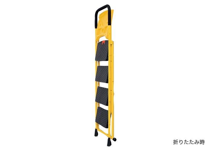 荷物が置ける便利な脚立