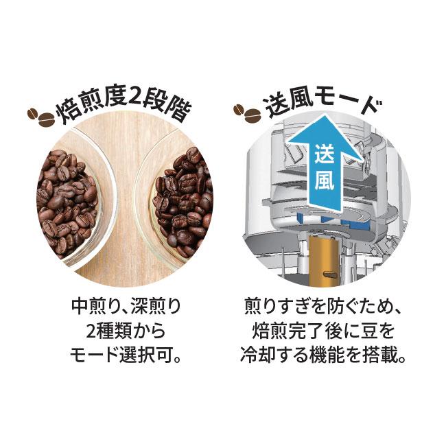 コーヒーロースター 生豆4種セット付き