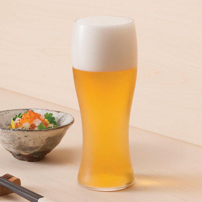 薄氷ロックグラス&ビヤーグラス 4個セット