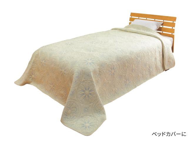 水洗い綿キルトカバー
