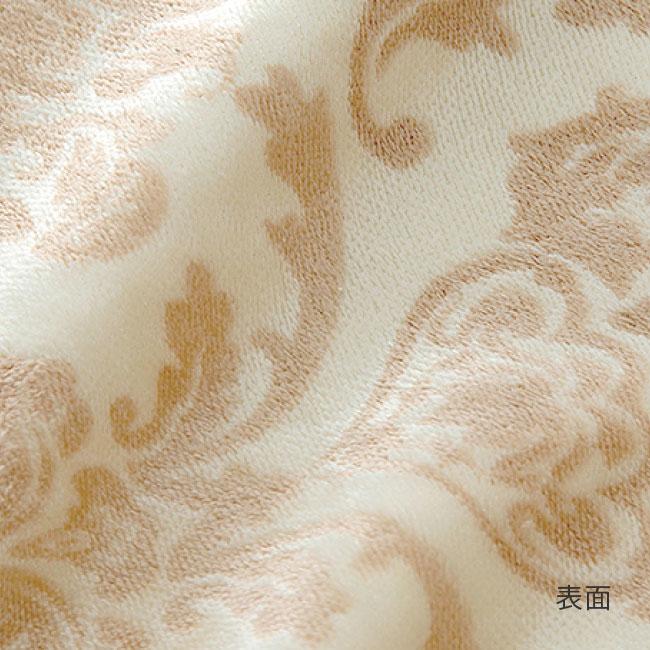 日本製シール織シルク毛布