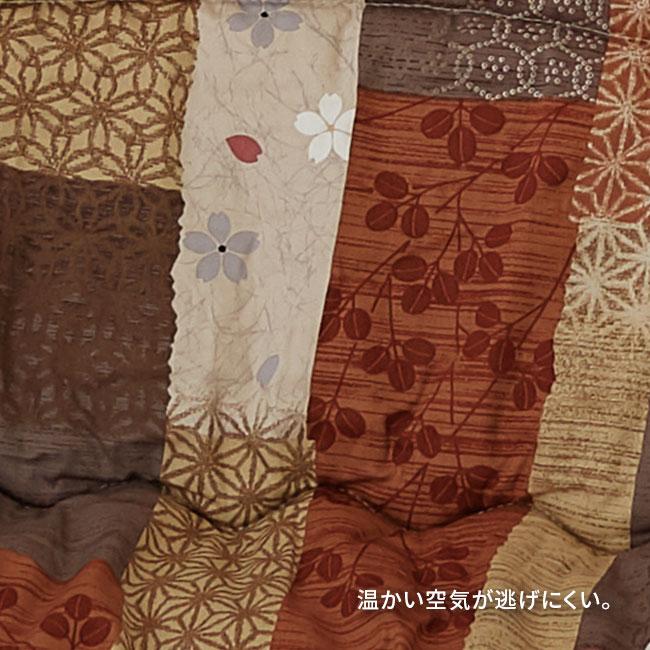 国産プリントこたつ布団掛敷セット 「京好み」