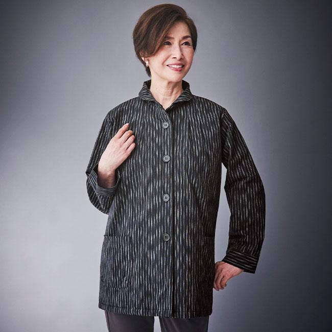亀田縞キルトジャケット