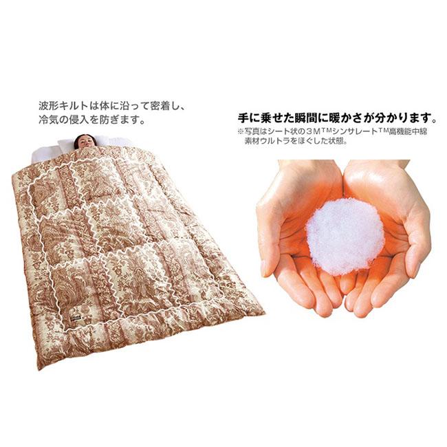 3MTMシンサレートTM高機能中綿素材使用掛布団【極】