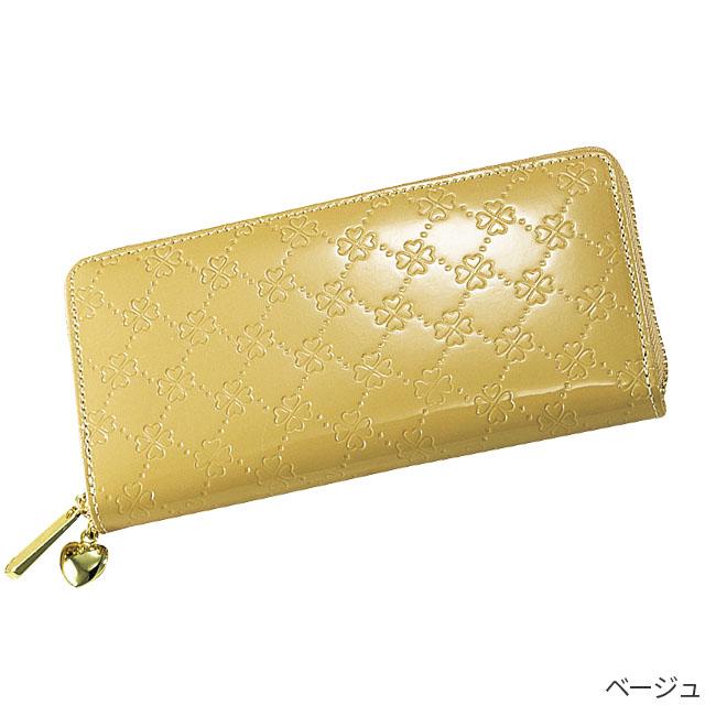 牛革コインスルー財布