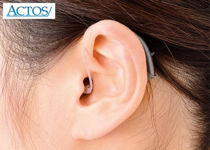 アクトス外耳道レシーバー式デジタル補聴器