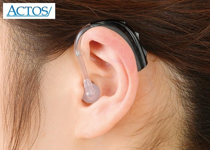 アクトス耳かけ型デジタル補聴器(ACTOS2-CP)