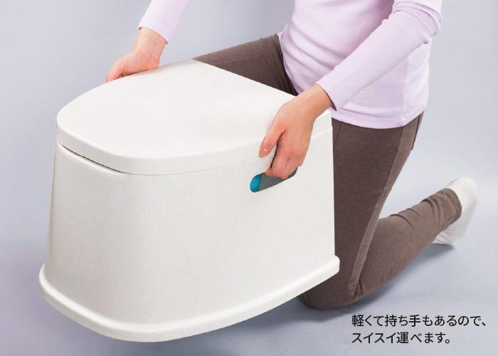 軽量ポータブルトイレ
