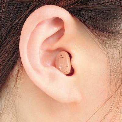 アクトス耳あな型デジタル補聴器 リモコン付き