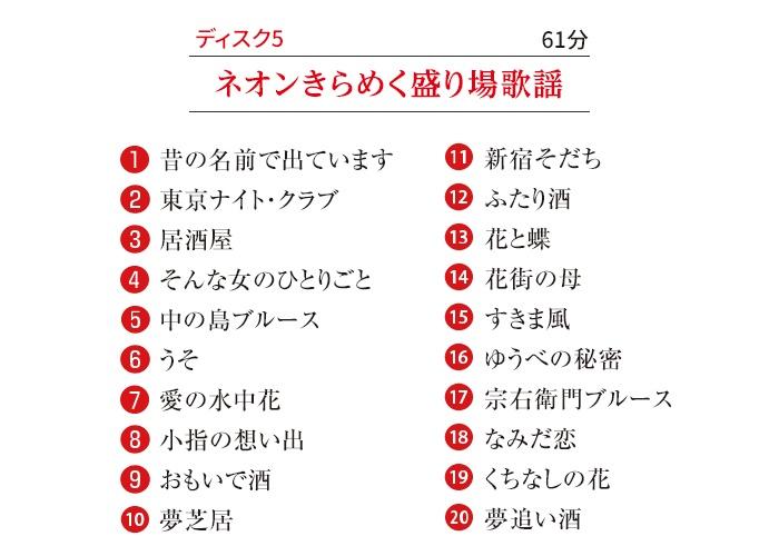 木村好夫 ムード・ギター昭和歌謡百選CD5枚組