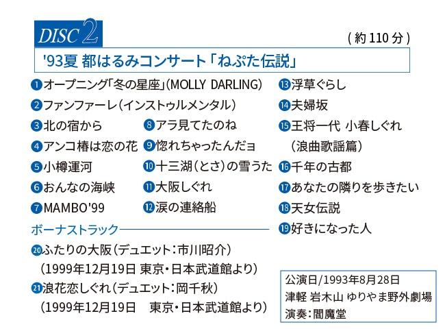 都はるみ 野外コンサートDVD3枚組