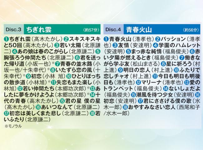 青春の逸品 愛しき昭和歌謡CD5枚組
