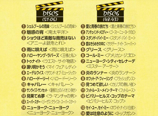 映画音楽ベスト100 CD7枚組