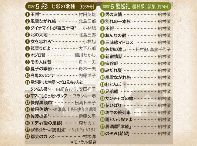 船村徹大全集 CD6枚組
