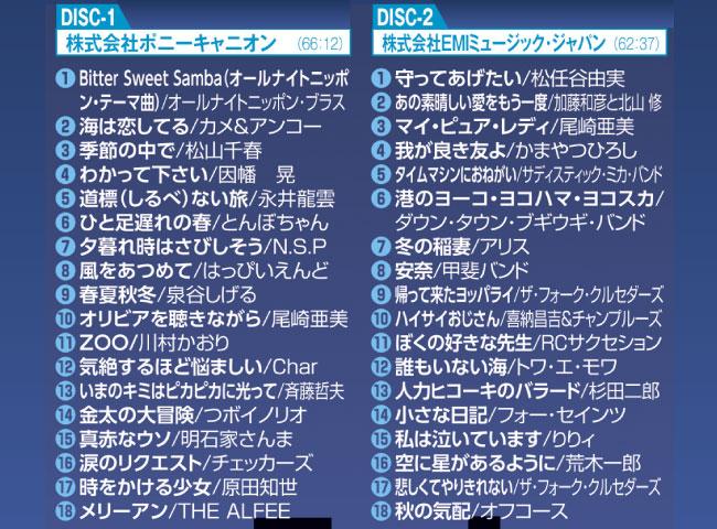 オールナイトニッポン -青春の45回転- CD-BOX(6枚組)