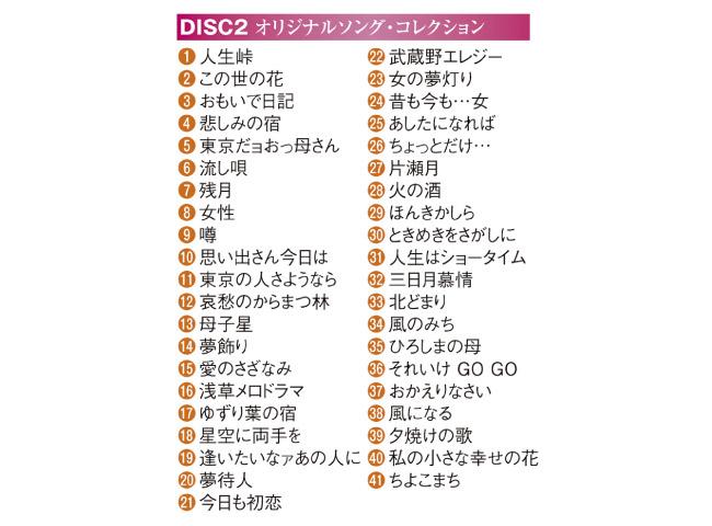 島倉千代子メモリアルコレクションDVD3枚組
