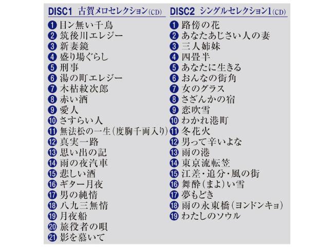 歌手生活50周年記念 大川栄策CDコレクション CD4枚組+DVD1枚