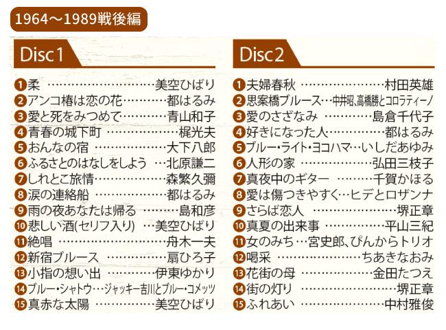 昭和 永遠の名曲大全集<戦前編><戦後編>セットCD12枚組
