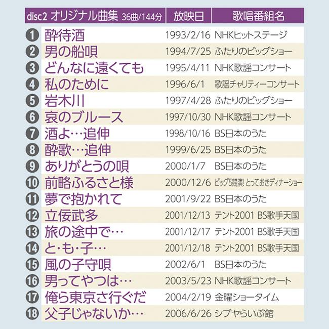 吉幾三NHK熱唱の軌跡 DVD3枚組