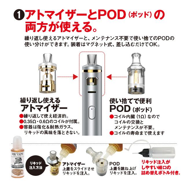 """電子タバコ""""Zero""""Smoking2(ゼロ スモーキング2)"""