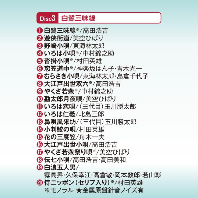 決定版 股旅・道中 痛快時代劇 CD5枚組