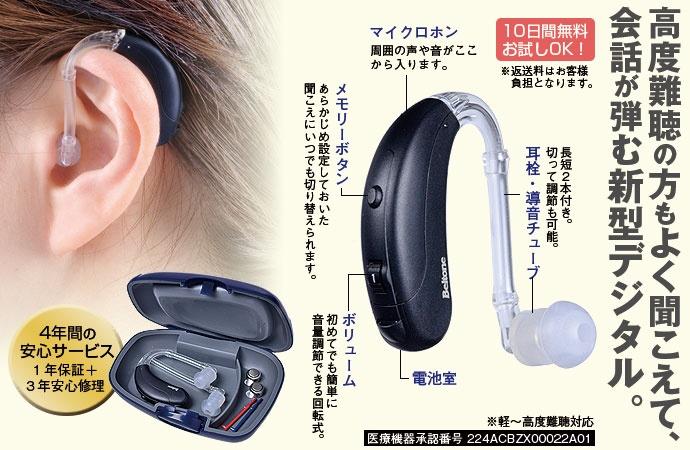 アクトス デジタル補聴器
