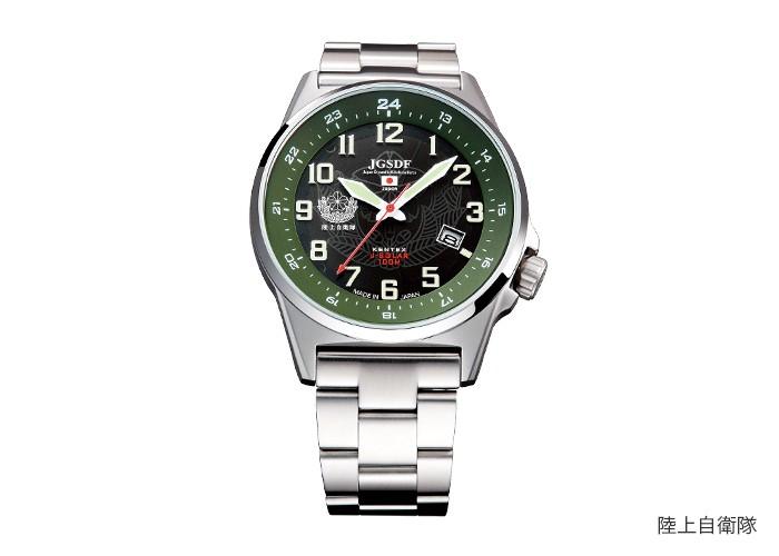 ケンテックス自衛隊モデル ソーラー腕時計