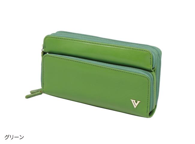 イタリア製牛革多機能財布