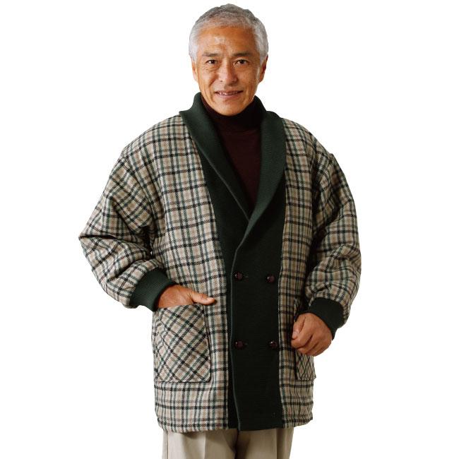 ウール入り中わたホームジャケット