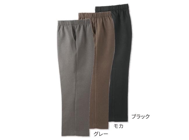 サイズが豊富な裏起毛パンツ3色組