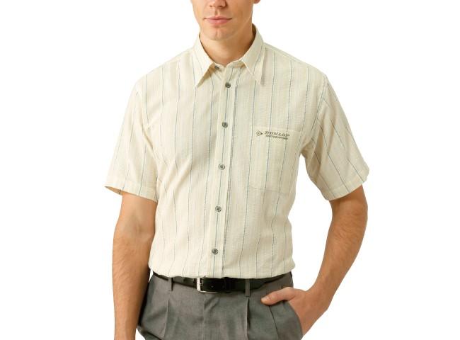 DMSストライプ柄半袖シャツ3色組