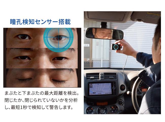 GPS付き居眠り防止アラーム