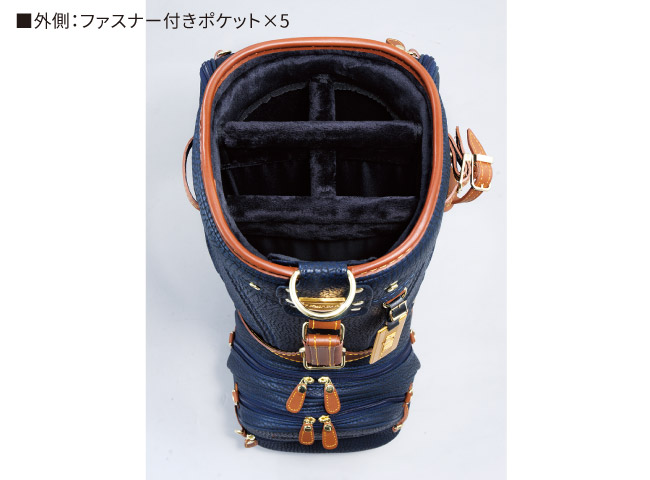 HONMA 洗練デザインのキャディーバッグ